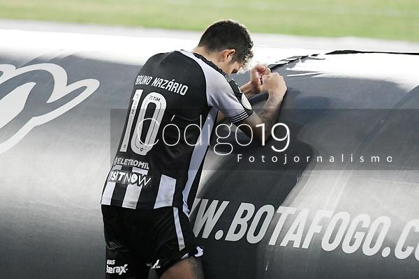 Rio de Janeiro (RJ), 20/01/2021 - Botafogo-Atlético-GO - Bruno Nazario jogador do Botafogo,durante partida contra o Atlético-GO,válida pela 31ª rodada do Campeonato Brasileiro,realizada no Estádio Nilton Santos (Engenhão), na zona norte do Rio de Janeiro,nesta quarta-feira (20).