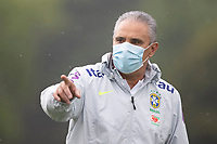 11th November 2020; Granja Comary, Teresopolis, Rio de Janeiro, Brazil; Qatar 2022 qualifiers; Tite, manager of Brazil during training session in Granja Comary