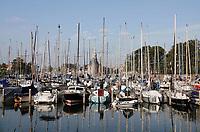 Nederland  Hoorn- September 2020 . Boten in de Vluchthaven.   Foto : ANP/ Hollandse Hoogte / Berlinda van Dam