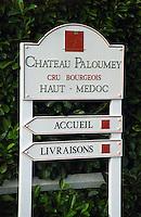 Chateau Paloumey, Haut Medoc, Bordeaux, France.