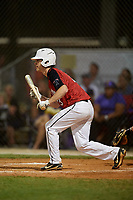 Xavier Haendiges during the WWBA World Championship at the Roger Dean Complex on October 19, 2018 in Jupiter, Florida.  Xavier Haendiges is a shortstop from Salem, Indiana who attends Salem High School and is committed to Ohio.  (Mike Janes/Four Seam Images)