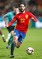 Spain's Isco Alarcon during FIFA World Cup 2018 Qualifying Round match. March 24,2017.(ALTERPHOTOS/Acero) /NortePhoto.com