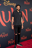 """LOS ANGELES, CA: 09, 2020: JaVale McGee at the world premiere of Disney's """"Mulan"""" at the El Capitan Theatre.<br /> Picture: Paul Smith/Featureflash"""