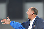 Bunyodkor head coach Felipe Scolari gives instructions during the Al-Wahda vs Bunyodkor match as part of  the 2010 AFC Champions League Group B on March 9, 2010 at the Al-Nahyan Stadium, Abu Dhabi, United Arab Emirates. Photo by World Sport Group