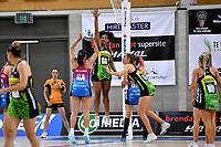 Kelera Nawai of the Pulse during the ANZ Premiership Netball - Te Wānanga o Raukawa Pulse v Southern Steel at Te Rauparaha Arena, Porirua, New Zealand on Sunday 16 May 2021.<br /> Photo by Masanori Udagawa. <br /> www.photowellington.photoshelter.com