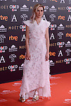 Maria Leon attends to the Red Carpet of the Goya Awards 2017 at Madrid Marriott Auditorium Hotel in Madrid, Spain. February 04, 2017. (ALTERPHOTOS/BorjaB.Hojas)