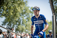 Elia Viviani (ITA/Deceuninck-QuickStep) at the race start at the Pont du Gard<br /> <br /> Stage 17: Pont du Gard to Gap(206km)<br /> 106th Tour de France 2019 (2.UWT)<br /> <br /> ©kramon