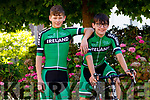 Sean Barrett, Scartaglin and Tom Moriarty, Castlegregory who are part of the U-16 Ireland Cycling team