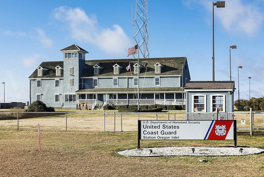 United States Coast Guard Station, Oregan Inlet, Nags Head, North Carolina, USA