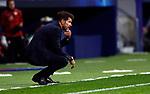 Atletico de Madrid's coach Diego Pablo Simeone during UEFA Champions League match, groups between Atletico de Madrid and Bayern 04 Leverkusen at Wanda Metropolitano Stadium in Madrid, Spain. October, Tuesday 21, 2019.(ALTERPHOTOS/Manu R.B.)