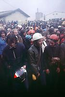 - manifestation against the yard of  nuclear power plant Superfenix  at Creys Malville, summer 1977 <br /> <br /> - manifestazione contro il cantiere della centrale nucleare Superfenix a Creys Malville, estate 1977