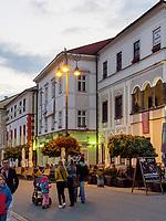 Benicky-Haus  nam.SNP 16  in Banska Bystrica, Banskobystricky kraj, Slowakei, Europa<br /> Benicky house nam. SNP 16 in Banska Bystrica, Banskobystricky kraj, Slovakia, Europe