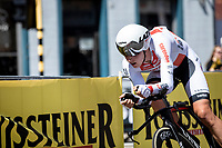 Tim Merlier (BEL/Corendon Circus)<br /> <br /> Baloise Belgium Tour 2019<br /> Stage 3: ITT Grimbergen – Grimbergen 9.2km<br /> ©kramon