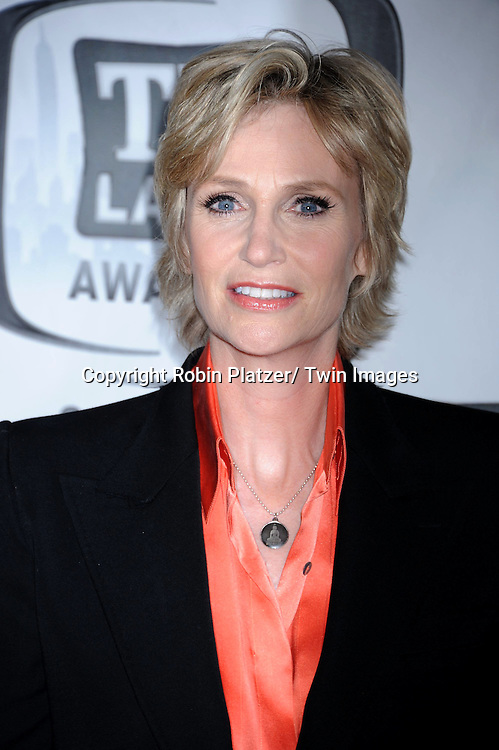 Jane Lynch attending The TV Land Awards 2011 .on April 10, 2011 at the Jacob Javits Center in New York City.