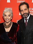 "Brooke Adams and Tony Shalhoub attends the Atlantic Theater Company ""Divas' Choice"" Gala at the Plaza Hotel on March 4, 2019 in New York City."