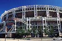 stadium, baseball, Cleveland, OH, Ohio, Jacobs Field, Cleveland Indians