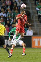 Bridgeview, IL, USA - Tuesday, October 11, 2016: Panama forward Rolando Blackburn (9) during an international friendly soccer match between Mexico and Panama at Toyota Park. Mexico won 1-0.