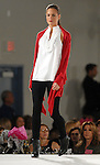 A model walks the runway at the Saks Fifth Avenue Fashion Show and Luncheon at the Nutcracker Market Thursday Nov. 12,2009. (Dave Rossman/For the Chronicle)