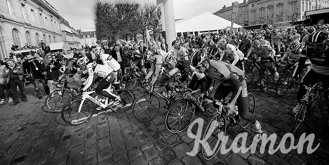 Paris-Roubaix 2012 ..'et on est parti!'