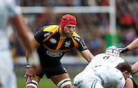Photo: Richard Lane/Richard Lane Photography. Wasps v Exeter Chiefs.  European Rugby Champions Cup Quarter Final. 09/04/2016. Wasps' James Haskell.