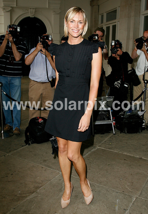 ALL ROUND PICTURES FROM SOLARPIX.COM.**WORLDWIDE RIGHTS*.Jenni Falconer arrives for the Marks and Spencer Autumn/Winter 2007 preview at One Piazza, Covent Garden, London..REF:3993   PRS        DATE: 24/05/07.**MUST CREDIT SOLARPIX.COM OR DOUBLE FEE WILL BE CHARGED* *UNDER NO CIRCUMSTANCES IS THIS IMAGE TO BE REPRODUCED FOR ANY ONLINE EDITION WITHOUT PRIOR PERMISSION*