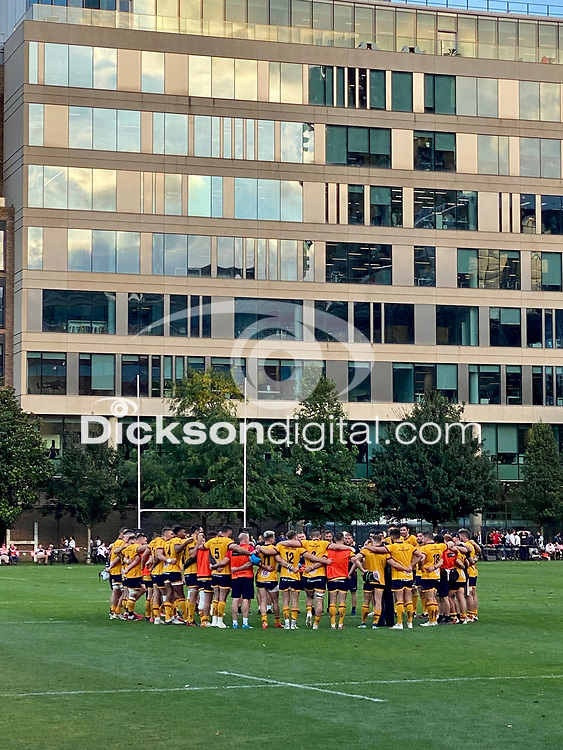 Thursday 9th September 20218 <br /> <br /> General view during the pre-season friendly between Saracens and Ulster Rugby at the Honourable Artillery Company Grounds, Armoury House, London, England. Photo by John Dickson/Dicksondigital