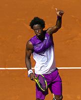25-05-11, Tennis, France, Paris, Roland Garros, Gael Monfils wint de tweede ronde