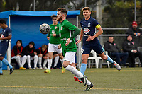 Jared Cunniff of the Wairarapa United controls the ball during the Central League Football -  North Wellington FC v Wairarapa United at Alex Moore Park ( Alex Moore Artificial), Johnsonville, New Zealand on Saturday 29 May 2021.<br /> Copyright photo: Masanori Udagawa /  www.photosport.nz