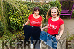 Super-slimmers Marie O'Sullivan and Lauren Fitzell who are doing a parachute jump for Recovery Haven in the coming weeks.