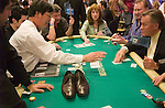 Even some shoes made it into the pot on an all in bet.