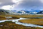 Lamar Valley, Yellowstone National Park, Wyoming