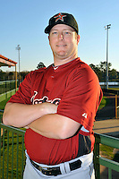 Feb 25, 2010; Kissimmee, FL, USA; The Houston Astros infielder Drew Meyer (64) during photoday at Osceola County Stadium. Mandatory Credit: Tomasso De Rosa / Four Seam Images