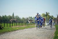 Topsport Vlaanderen-Baloise<br /> <br /> 2014 Paris-Roubaix reconnaissance