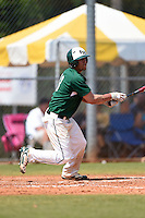 Farmingdale State Rams Nick Osburn during a game against the U-Mass Boston Beacons at North Charlotte Regional Park on March 19, 2015 in Port Charlotte, Florida.  U-Mass Boston defeated Farmingdale 9-5.  (Mike Janes/Four Seam Images)