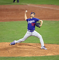 Max Gamboa - Los Angeles Dodgers 2019 spring training (Bill Mitchell)