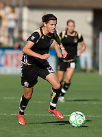07 June 2009:  Christine Sinclair of the FC Gold Pride in action during the game against the Red Stars at Buck Shaw Stadium in Santa Clara, California.   FC Gold Pride tied Chicago Red Stars, 1-1.