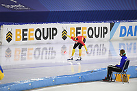 SPEEDSKATING: HEERENVEEN: 24-01-2021, IJsstadion Thialf, ISU World Cup I, 500m Men Division B, Nil Llop (ESP), ©photo Martin de Jong