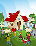 Family making home in installments
