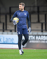 21st November 2020; Somerset Park, Ayr, South Ayrshire, Scotland; Scottish Championship Football, Ayr United versus Dundee FC; Dundee goalkeeper Adam Legzdins during the warm up before the match