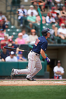 Pawtucket Red Sox third baseman Jantzen Witte (31) at bat during a game against the Rochester Red Wings on June 29, 2016 at Frontier Field in Rochester, New York.  Pawtucket defeated Rochester 3-2.  (Mike Janes/Four Seam Images)