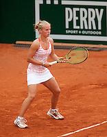 12-8-09, Den Bosch,Nationale Tennis Kampioenschappen, 1e ronde,    Richel Hogenkamp