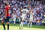 Real Madrid's player Danilo Luiz Da Silva during a match of La Liga Santander at Santiago Bernabeu Stadium in Madrid. September 10, Spain. 2016. (ALTERPHOTOS/BorjaB.Hojas)