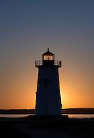 Edgartown Light, Martha's Vineyard, Massachusetts, USA
