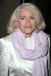 Edie Windsor attends the Broadway Opening Night Performance After Party for  'It's Only A Play'  at the Mariott Marquis on October 9, 2014 in New York City.
