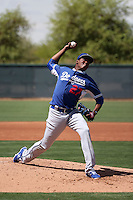 Angel German - Los Angeles Dodgers 2016 extended spring training (Bill Mitchell)