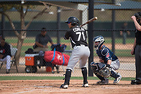 Chicago White Sox third baseman Brady Conlon (71) during a Minor League Spring Training game against the Chicago White Sox at Camelback Ranch on March 16, 2018 in Glendale, Arizona. (Zachary Lucy/Four Seam Images)