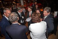 11-sept.-2013,Netherlands, Groningen,  Martini Plaza, Tennis, DavisCup Netherlands-Austria, Training,   Offical Dinner<br /> Photo: Henk Koster