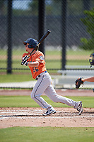 Houston Astros Myles Straw (66) during a Minor League Spring Training Intrasquad game on March 28, 2018 at FITTEAM Ballpark of the Palm Beaches in West Palm Beach, Florida.  (Mike Janes/Four Seam Images)
