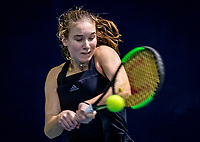 Hilversum, Netherlands, December 2, 2018, Winter Youth Circuit Masters, Anouk Koevermans (NED)<br /> Photo: Tennisimages/Henk Koster