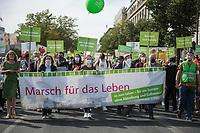 """Aufmarsch von fundamentalistischen und religioesen Abtreibungsgegnern unter dem Motto """"Marsch fuer das Leben"""" am Samstag den 19. September 2020 in Berlin.<br /> 19.9.2020, Berlin<br /> Copyright: Christian-Ditsch.de"""